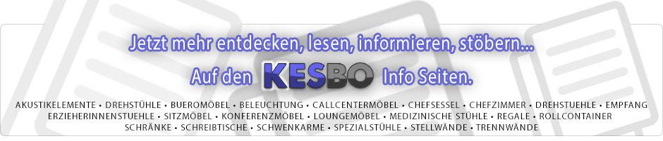 NEU - Die Kesbo Büromöbel CMS Seite