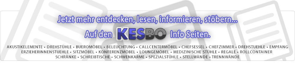 NEU - Die Kesbo B�rom�bel CMS Seite